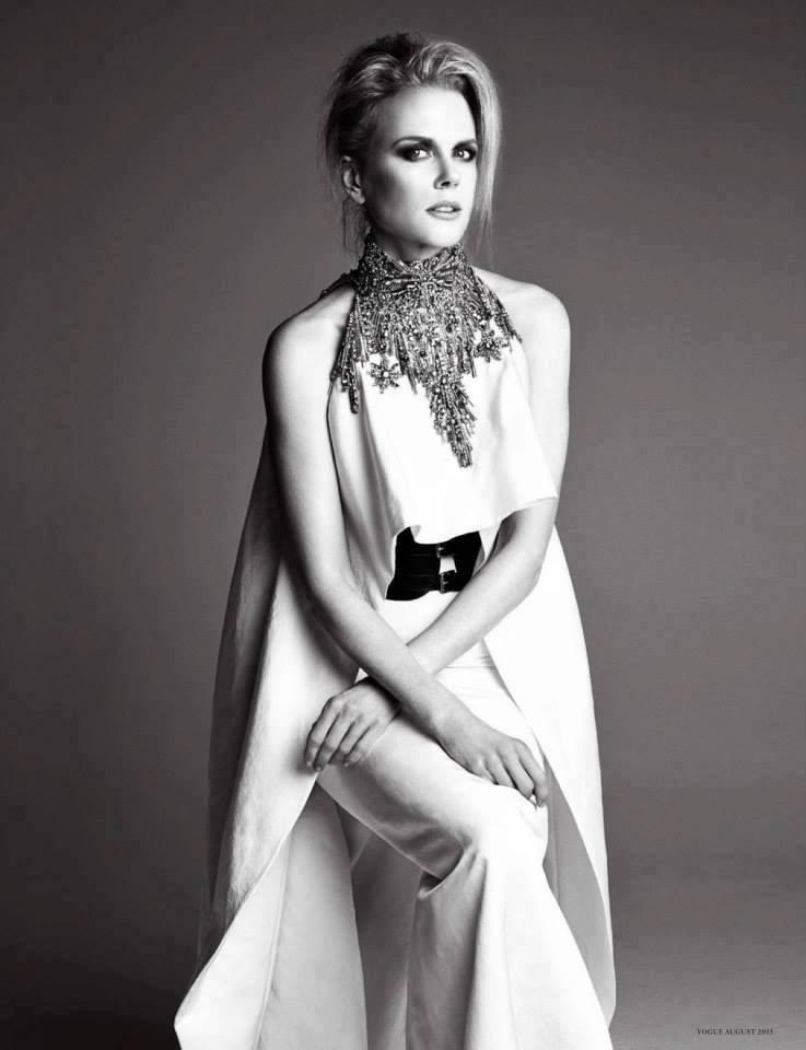 Nicole Kidman - German Vogue 2013