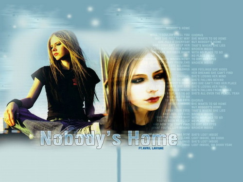 avril lavigne wallpaper with a portrait called Nobody's halaman awal