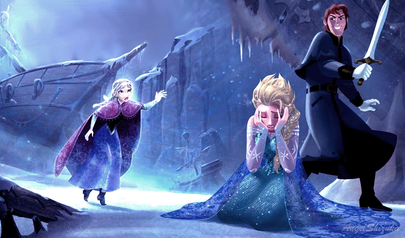 Official Frozen Illustration Edited