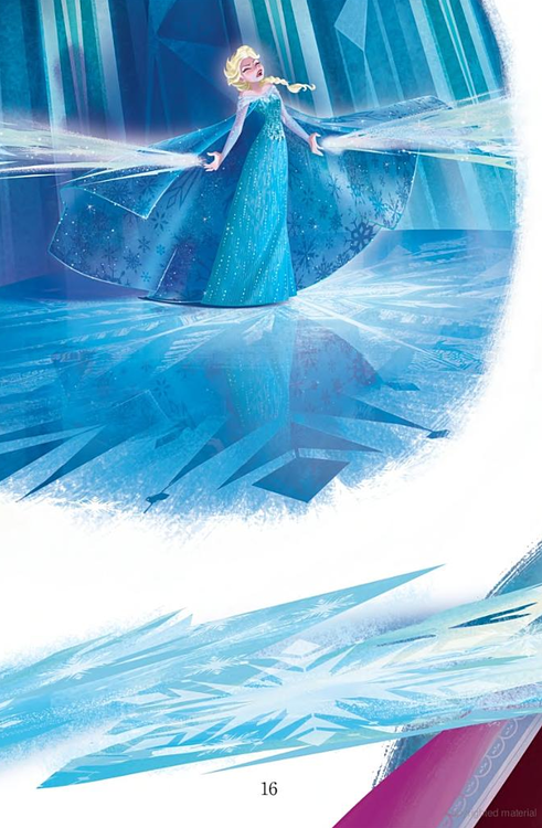Official Frozen Illustrations (Spoilers)