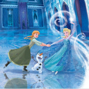 Official Frozen - Uma Aventura Congelante Illustrations