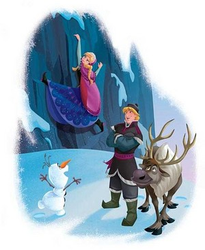 Official Frozen Illustrations