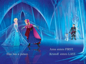 Official La Reine des Neiges Illustrations