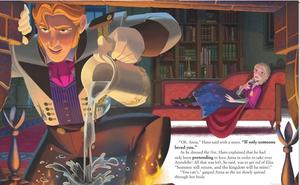 Official Nữ hoàng băng giá Illustrations