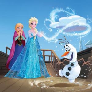Official frozen Illustrations