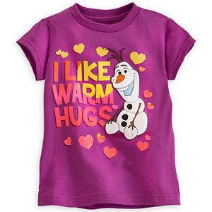 Olaf T-shirt from Disney Store