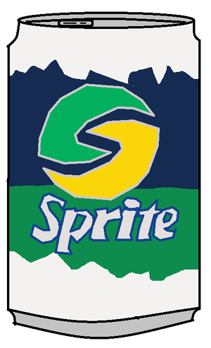 Old Sprite Can
