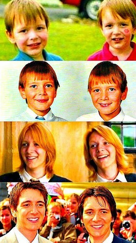 Harry Potter wallpaper possibly containing a portrait titled Oliver and James ♥