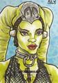 Oola Artwork - oola-jabbas-twilek-slave fan art