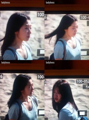 Park Shin Hye Filming The Heirs