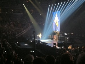 Paul in コンサート Barclays Center 2013