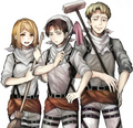 Petra, Levi, and Auruo
