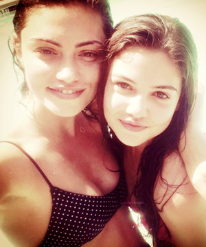 Phoebe and Danielle