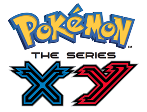 Pokémon The Series XY: official poster and logo
