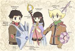 PokeSpe characters