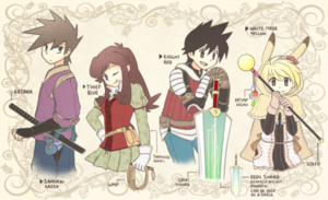 PokeSpe characters