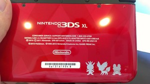 Pokemon X and Y 3DS