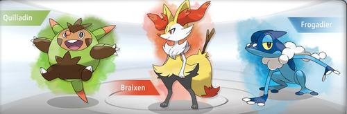 Pokemon X and Y Starter Evolution