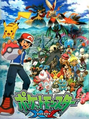 Pokemon XY animê series Poster v2