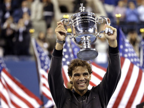 Rafael Nadal wallpaper titled RAFA wins US OPEN 2013