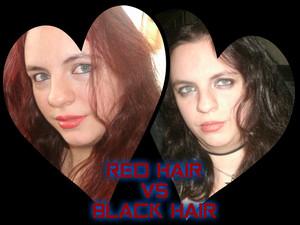 RED HAIR VS BLACK HAIR