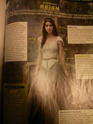 Reign on EW Magazine