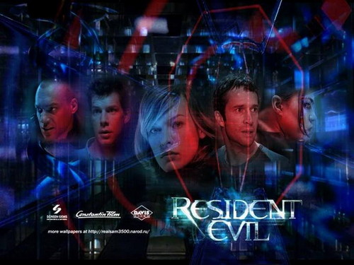 Resident Evil Movie 壁纸 probably with a 音乐会 entitled Resident Evil
