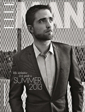 Robert,ELLE South Africa magazine<3