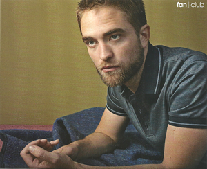 Robert in Marie Claire Italy magazine