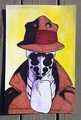 Rorschach Illustration  - watchmen fan art
