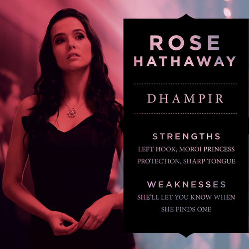 The Vampire Academy Blood Sisters wallpaper probably containing a portrait called Rose Hathaway