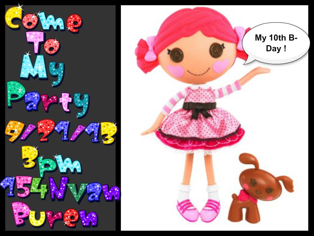 lalaloopsy dolls images sarah 39 s b day hd wallpaper and