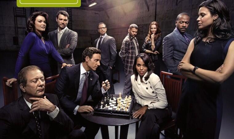 Scandal [ABC] Scandal S3 Cast Promotional Photo