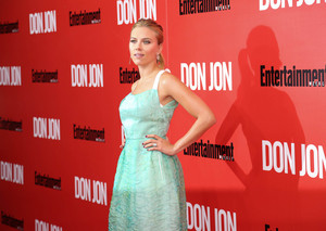 Scarlett Johansson at the NY premiere of Don Jon
