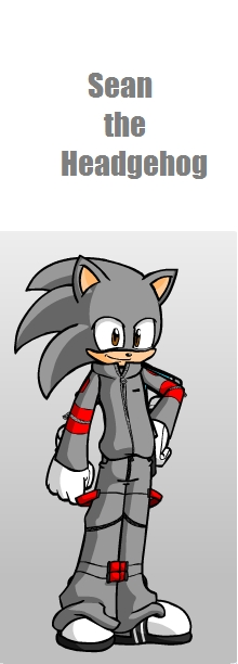 Sean the Hedgehog ( sonic's cousin )