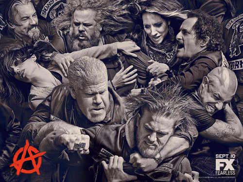 Sons Of Anarchy wallpaper possibly containing anime called Season 6 Wallpaper