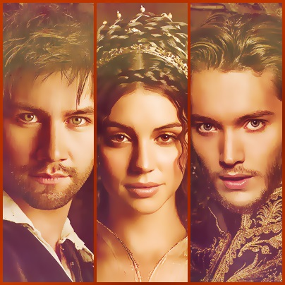 Reign [TV Show] fond d'écran probably with a portrait entitled Sebastian/Mary/Francis
