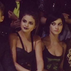 Selena at the Versage Woman's Wear tunjuk in Milan (September 20)