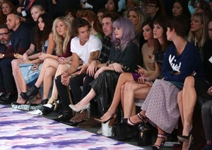 September 14th - Harry Styles attends the House of Holland montrer at Londres Fashion Week