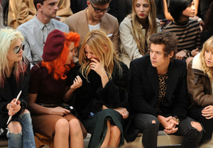 September 16th - Harry at burberry Fashion ipakita in London