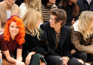 September 16th - Harry at Burberry Fashion Show in London