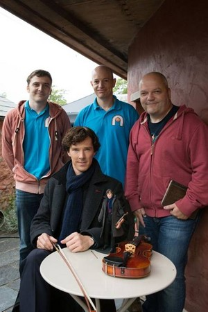 Sherlock Figurines - Big Chief Studio