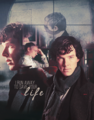 Sherlock&John forever ! - johnlock fan art
