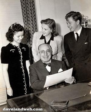 Shirley Temple, Judy Garland, Mickey Rooney