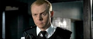 Simon Pegg - Hot Fuzz BTS ♥