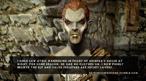 Elder Scrolls V : Skyrim wallpaper entitled Skyrim Confessions
