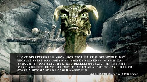 Elder Scrolls V : Skyrim wallpaper containing a fonte called Skyrim Confessions
