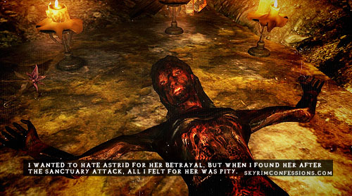 Elder Scrolls V : Skyrim wallpaper with a fogo and animê called Skyrim Confessions