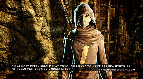 Elder Scrolls V : Skyrim wallpaper entitled Skyrim Confessions