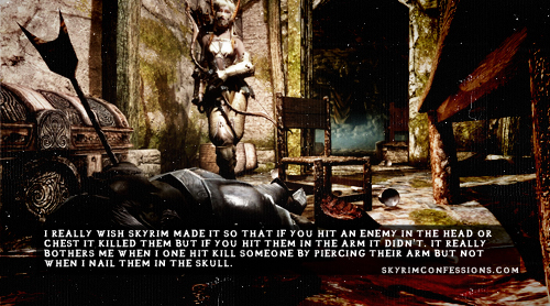 Elder Scrolls V : Skyrim wallpaper titled Skyrim Confessions